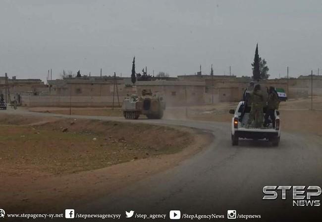 Nhóm khủng bố Al-Qaeda Syria sử dụng xe thiết giáp của Thổ Nhĩ Kỳ tiến công trên chiến trường Hama