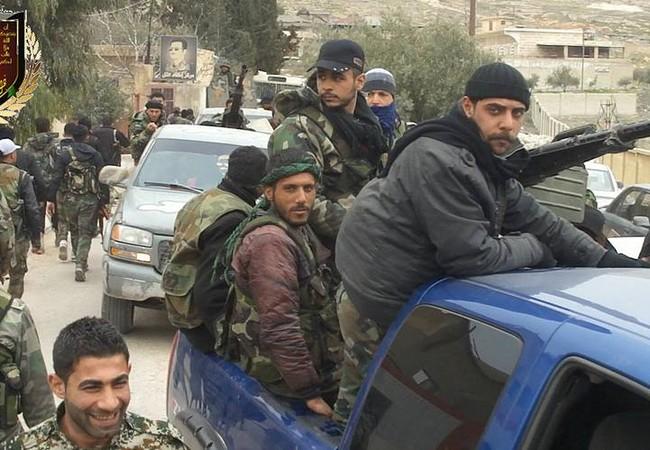 Lực lượng quân tiếp viện Syria đến chiến trường phía bắc tỉnh Hama