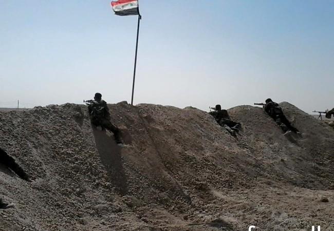 Binh sĩ lữ đoàn 104 Vệ binh Cộng hòa trên chiến trường Deir Ezzor