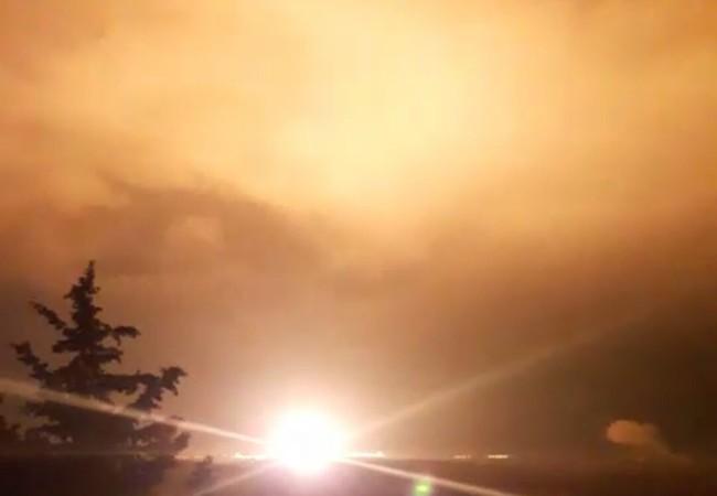 Vụ không kích đêm trên vùng biên giới Syria - Thổ Nhĩ Kỳ