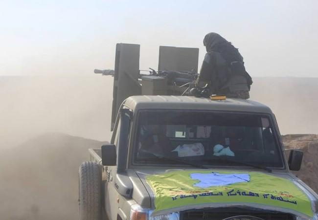 Lực lượng Dân chủ Syria SDF tấn công về thành phố Tabqa