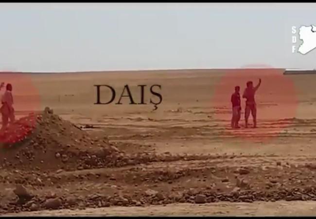 4 tù binh IS, bị lực lượng SDF bắn hạ