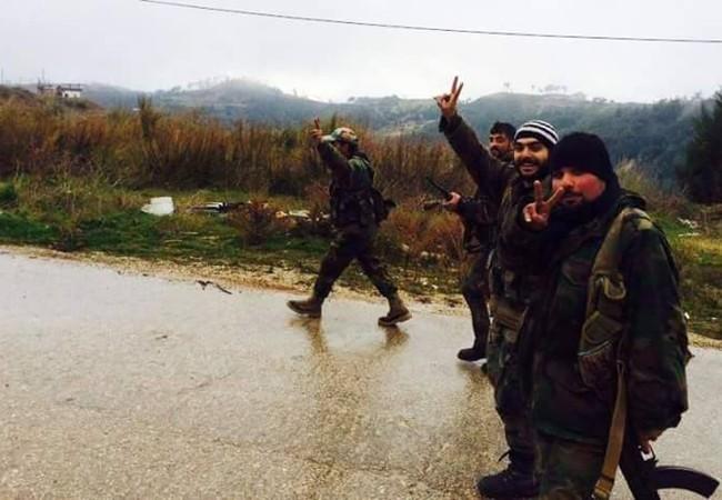 Lực lượng vũ trang quân đội Syria trên chiến trường Latakia