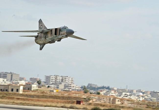 Máy bay MiG 23 quân đội Syria