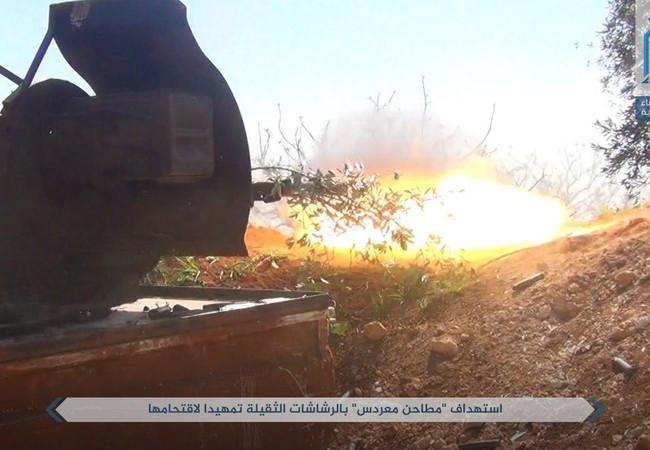 Nhóm chiến binh khủng bố Al-Qaeda Syria bắn phá dữ dội các địa bàn dân cư trên vùng nông thôn bắc Hama
