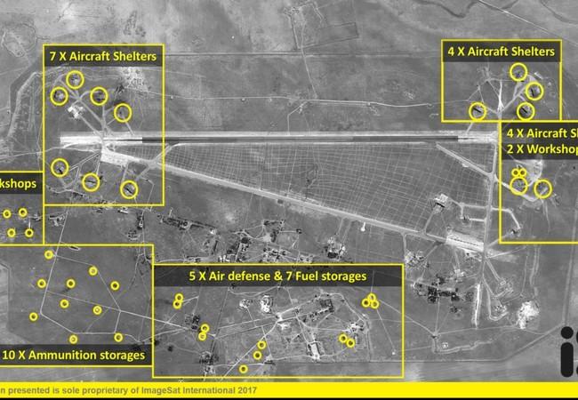 Kết quả vũ tấn công bằng tên lửa hành trình Tomahawk theo nguồn tin từ Bộ quốc phòng Mỹ