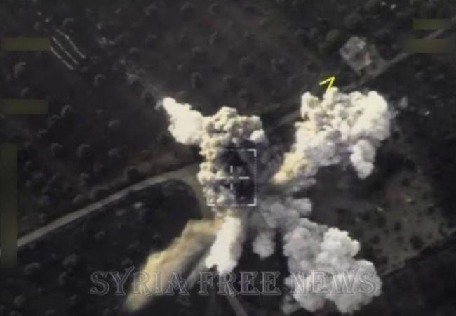 Không quân Nga không kích phiến quân ở tỉnh Idlib