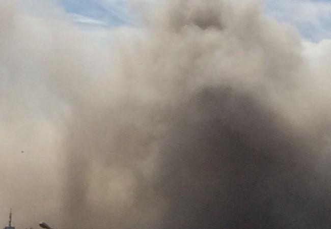 Vụ nổ lớn ở thành phố Thổ Nhĩ Kỳ