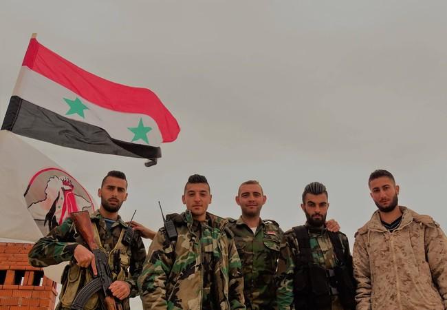 Lực lượng vũ trang địa phương NDF Syria trên chiến trường Hama