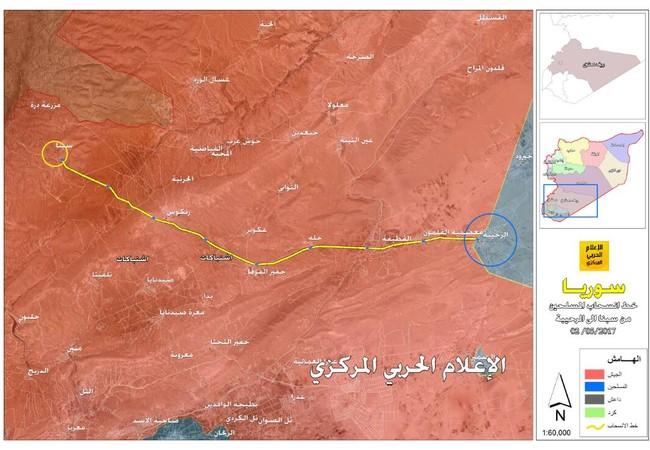 Nhóm Hồi giáo cực đoan thánh chiến di chuyển về Đông Ghouta