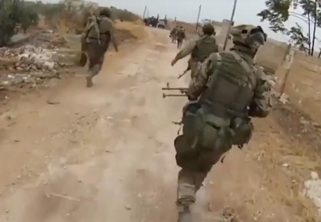 Một phân đội đặc nhiệm Nga ở Syria