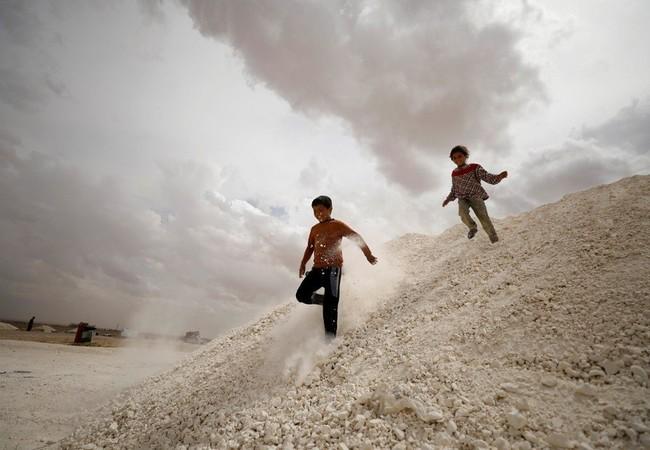 Có thể sự bình yên sẽ đến với trẻ em Syria trong những vùng nổi loạn