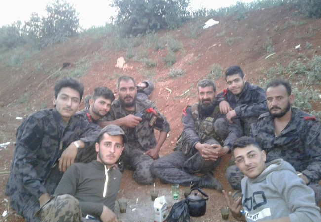 Lực lượng vũ trang địa phương NDF trên vùng nông thôn miền bắc Hama