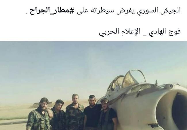Binh sĩ lực lượng Tiger trên sân bay quân sự Jirah vừa giải phóng