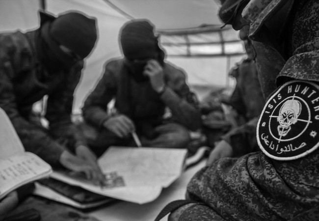 Lực lượng đặc nhiệm chiến thuật Săn IS lên kế hoạch chiến đấu ở Palmyra