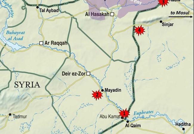 Những điểm nóng tiềm ẩn của cuộc chiến tranh ủy nhiệm trên chiến trường Syria