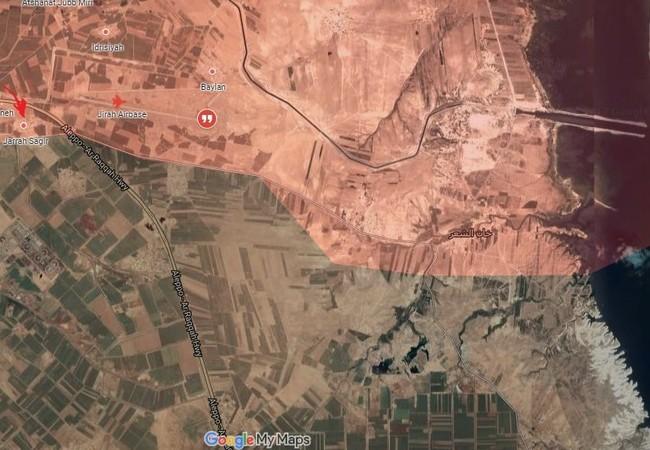 Chiến trường phía đông Aleppo tính đến ngày 15.05.2017