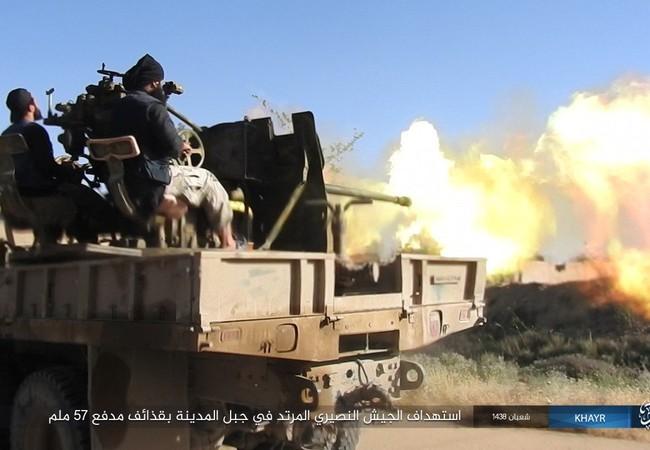 Quân đội Syria đánh trả IS trên chiến trường Deir Ezzor