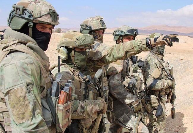Một phân đội đặc nhiệm Nga trên chiến trường Palmyra