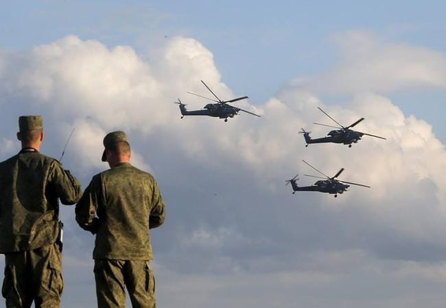 Lực lượng trực thăng chiến đấu Nga trên chiến trường Syria