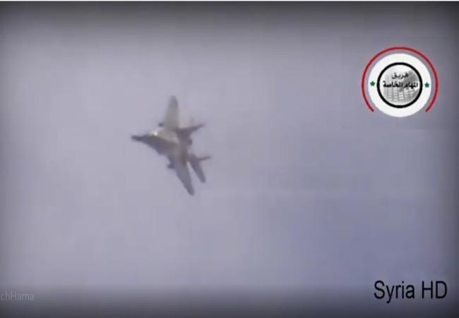 Không quân Nga không kích trên vùng nông thôn tỉnh Hama