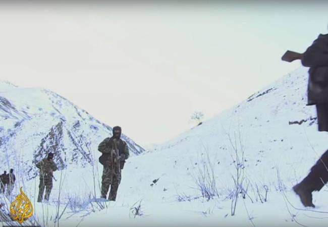 Những chiến binh IS trên vùng núi hẻo lãnh miền bắc Afghanistan