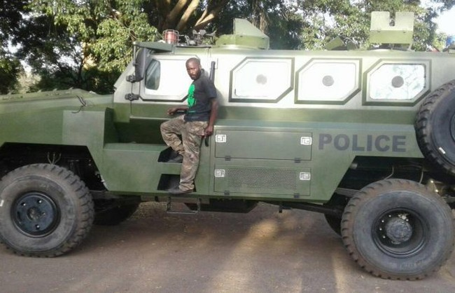 Xe thiết giáp chống mìn của Trung CS / VP3 Bigfoot