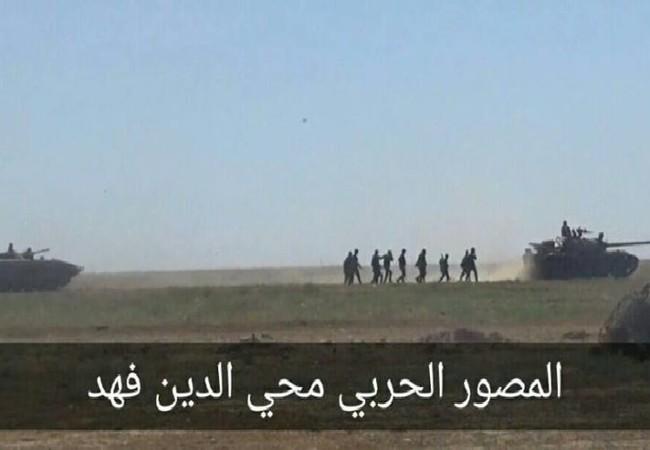 Quân đội Syria tấn công trên chiến trường Hama