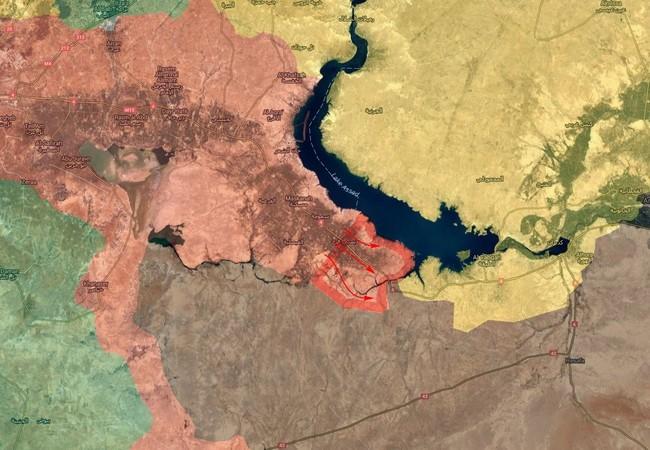 Khu vực lãnh thổ vừa được giải phóng trong ngày 08.06.2017