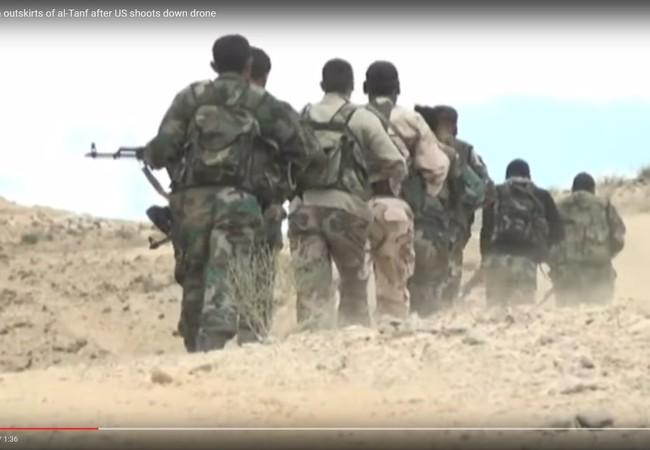 Quân đội Syria triển khai lực lượng gần căn cứ của các nhóm FSA do Mỹ hậu thuẫn