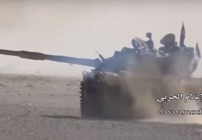 Xe tăng quân đội Syria, chiến đấu trên chiến trường Palmyra