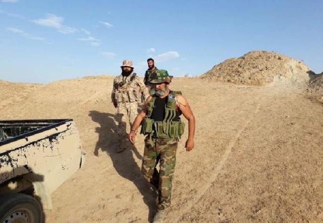 Tướng Issam Zahreddien, chỉ huy lực lượng Vệ binh Cộng hòa trên chiến trường Deir Ezzor