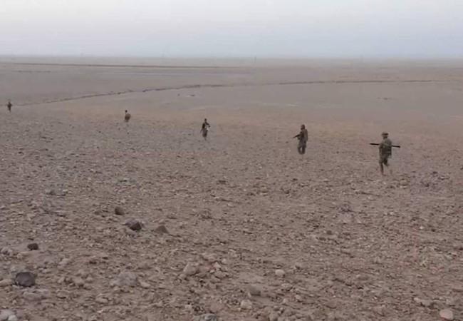 Quân đội Syria tiến công về phía thị trấn dầu mỏ Arak, phía đông Palmyra