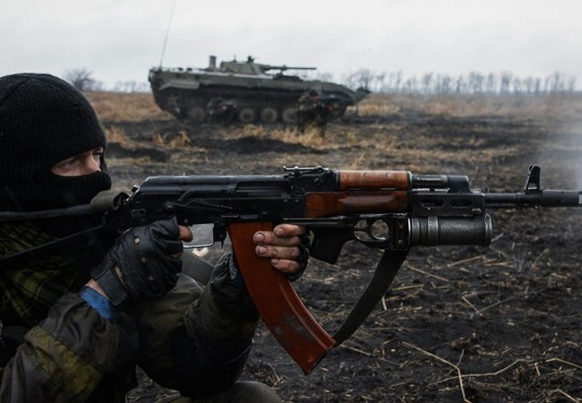 Lực lượng dân quân vùng Donbass trong cuộc chiến ở Lugansk