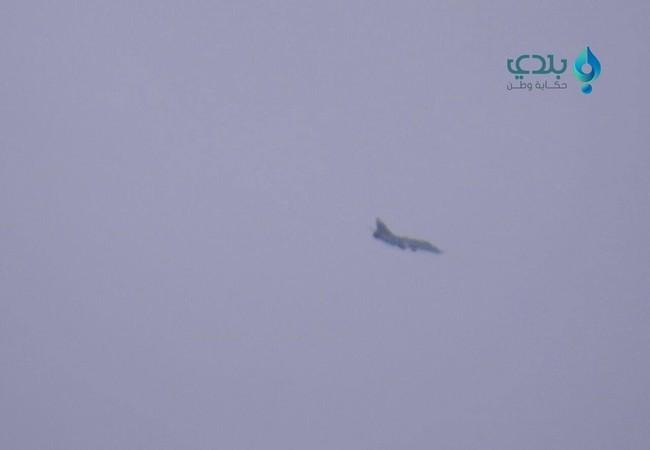 Không quân Syria không kích trên không phận Deir Ezzor