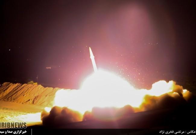 Iran phóng tên lửa đạn đạo tấn công IS