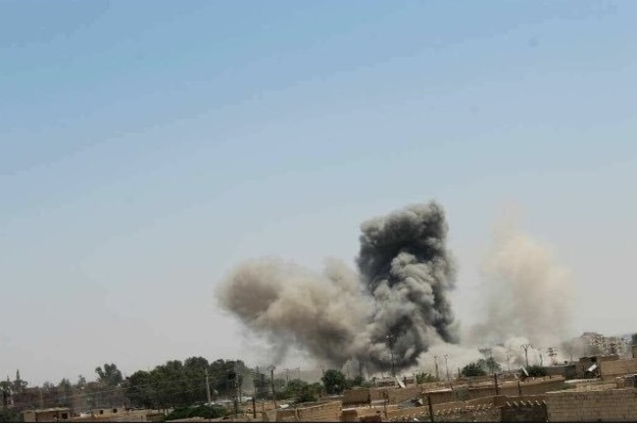 Không quân Syria không kích dữ dội chiến trường Daraa
