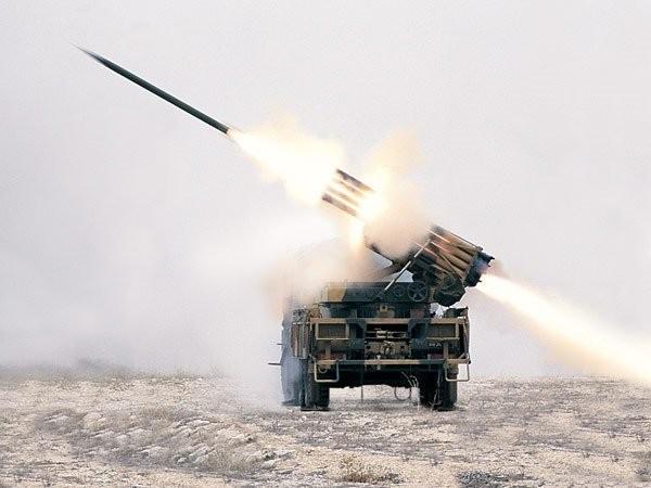 Pháo phản lực T-122 Sakarya của Thổ Nhĩ Kỳ