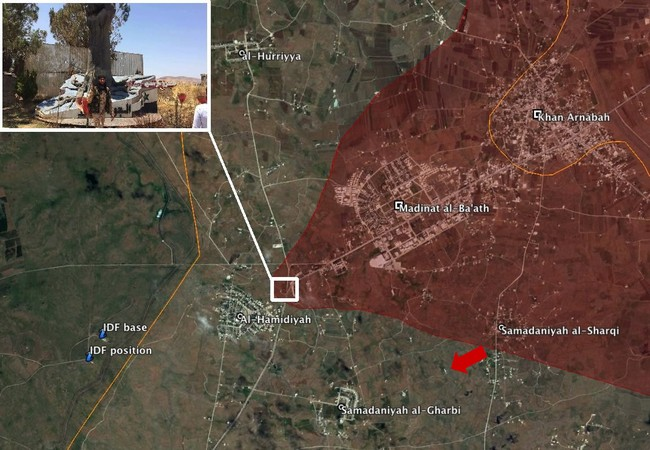 Cuộc tấn công của quân đội Syria trên hướng Al-Samdaniyah Al-Gharbiyah