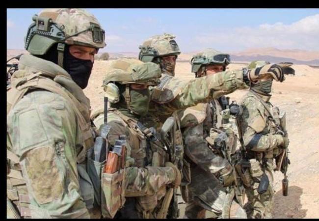 Đặc nhiệm Nga trên chiến trường Syria