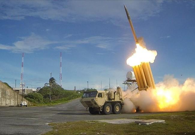 Hệ thống phòng thủ tên lửa chiến trường THAAD (Terminal High Altitude Area Defense)