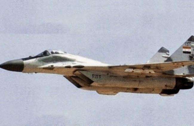 Máy bay chiến đấu không quân Syria (ảnh minh họa)