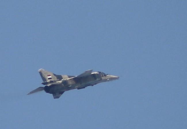 Không quân Syria (ảnh minh họa)