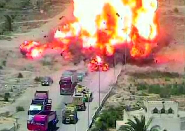 Vụ nổ kinh hoàng của xe đánh bom tự sát IS trên bán đảo Sinai, Ai Cập