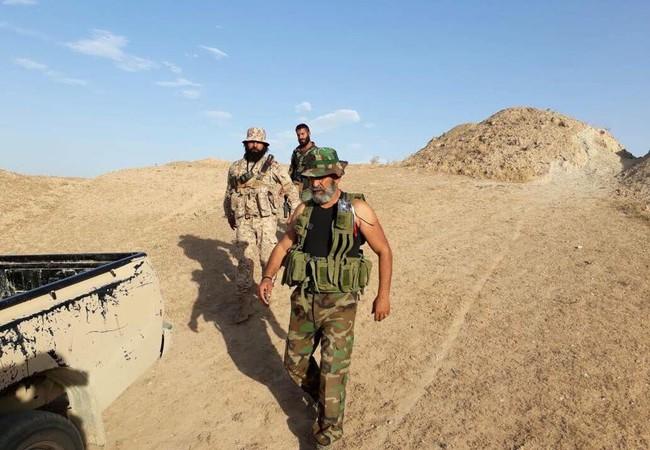 Tướng Issam-Zahreddine, chỉ huy trưởng lữ đoàn 104 Vệ binh Cộng hòa trên chiến trường Deir Ezzor