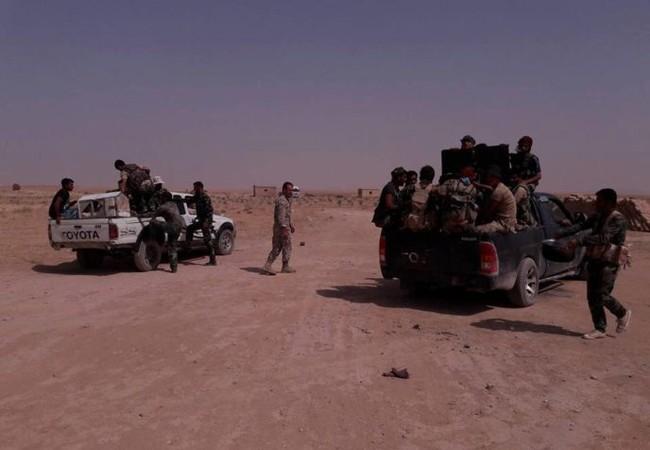 Binh sĩ lực lượng Tiger trên chiến trường Raqqa - Deir Ezzor