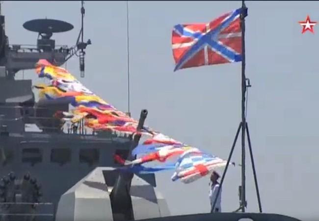 Lực lượng Hải quân Nga trên quân cảng Tartus