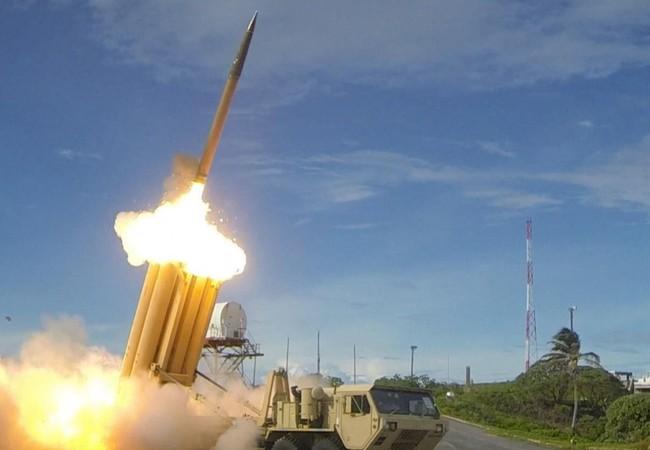 Hệ thống tên lửa phòng không THAAD phóng đạn