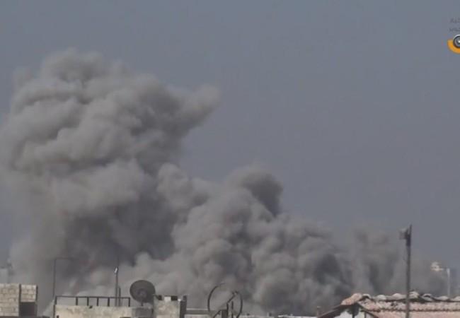 Không quân, pháo binh quân đội Syria pháo kích dữ dội vào Đông Ghouta