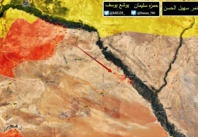 Toàn bộ khu vực bị bao vây, lực lượng Tiger đã hoàn toàn giải phóng - bản đồ Masdar News